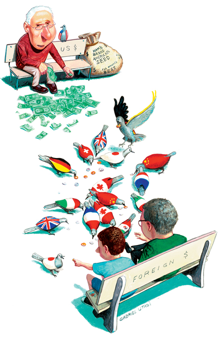 Financial Illustration by Cincinnati Artist Gabriel Utasi