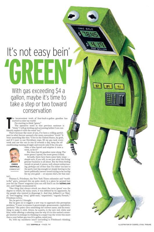 Living Green Illustration by Cincinnati Artist Gabriel Utasi