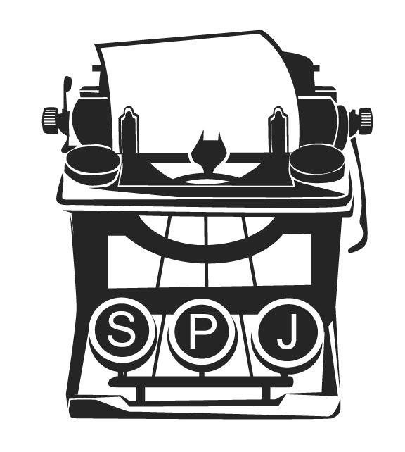 SPJ Awards Logo Design design by Cincinnati Graphic Artist Gabriel Utasi