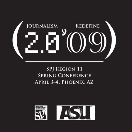 SPJ Conference Logo Design design by Cincinnati Graphic Artist Gabriel Utasi