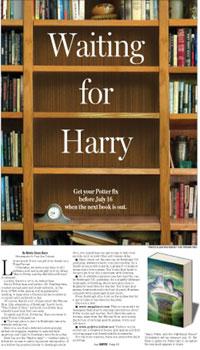 Harry Potter feature design by Cincinnati Artist Gabriel Utasi