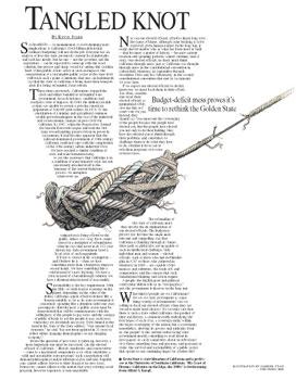 Editorial Design and Illustration with skewed type by Cincinnati Artist Gabriel Utasi